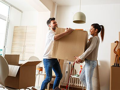 verhuizen naar een nieuwe woning