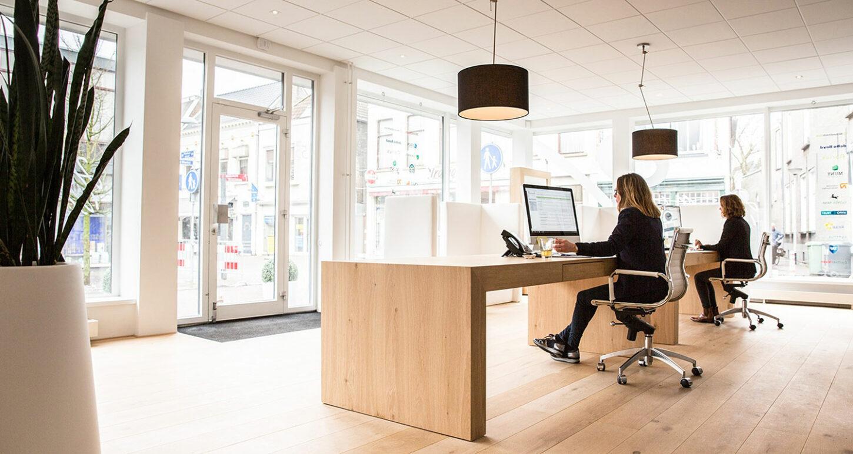 Het hoofdkantoor van Financiële Meesters in Roosendaal